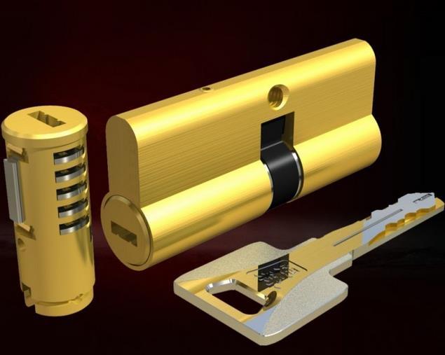 中国十大锁芯品牌 十大防盗门锁芯品牌