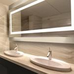 卫浴防雾镜浴室带灯智能镜