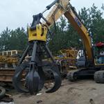 徐工挖掘机抓钢器设计新颖安全高效抓钢机王者