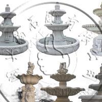 供应大型广场水钵石雕喷泉大理石雕塑庭院室外水景摆件