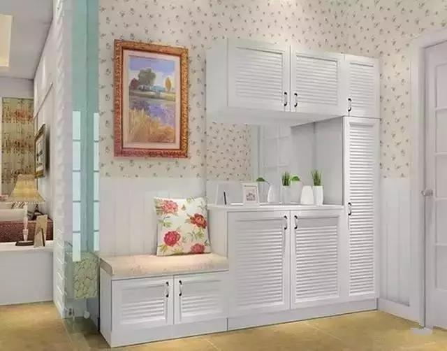 进门餐厅客厅玄关隔断 玄关和鞋柜如何设计