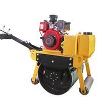 手扶单钢轮压路机的钢轮宽度