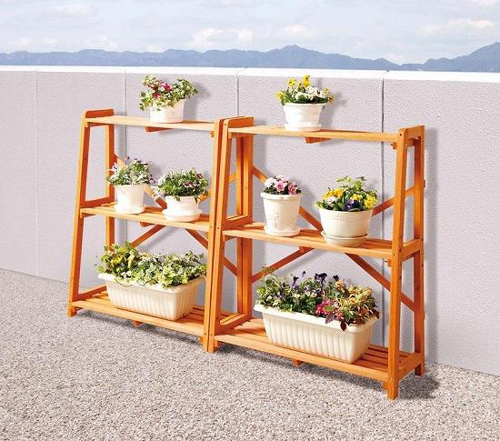 客厅花架图片 如何DIY花架方法图解