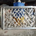 台州中式铝窗花批发 港式铝窗花 仿古焊接铝窗花