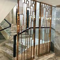 金属防护网港式铝窗花-德普龙供应