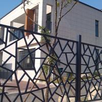 庭园中式古典艺术冰烈纹铝窗花定制工厂直供