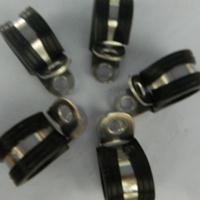 不锈钢套胶条电缆固定夹  FLT-R16金属固定支架