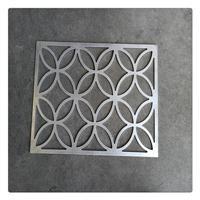 雕刻镂空铝窗花外墙装饰 铝合金防火材料定制生产