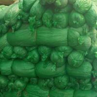 工地绿色防尘盖土网用几针合适