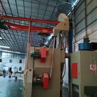 铝材铜制品打沙机吊钩式抛丸机广东喷砂机氧化皮脱漆喷砂机厂家