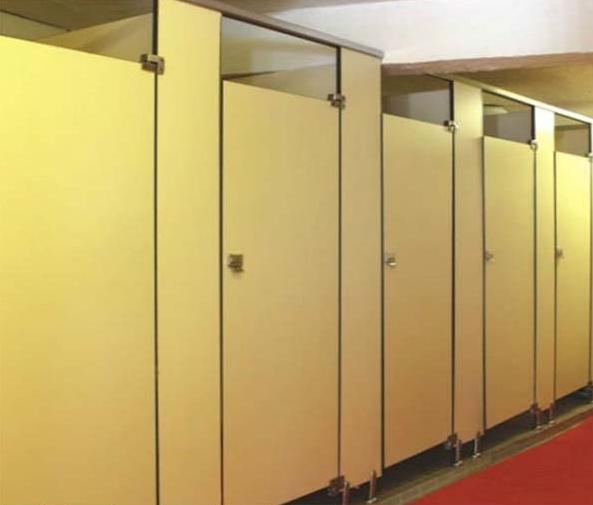 洗手间屏风隔断效果图 洗手间卫生间隔断尺寸配件材料价格多少