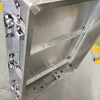 供应铝合金电池箱壳体 电池铝箱体下壳体焊接加工