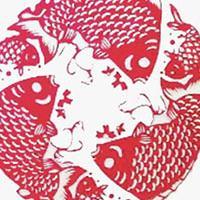 时间出品-硅藻艺术挂画 传统剪纸系列