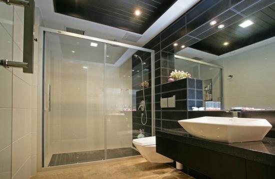 卫生间砌墙隔断效果图 厕所正对大门怎样做隔断装修效果图