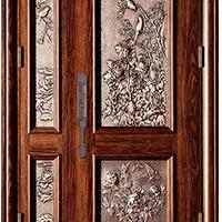 奥格尔私家安全门仿古木门十大品牌