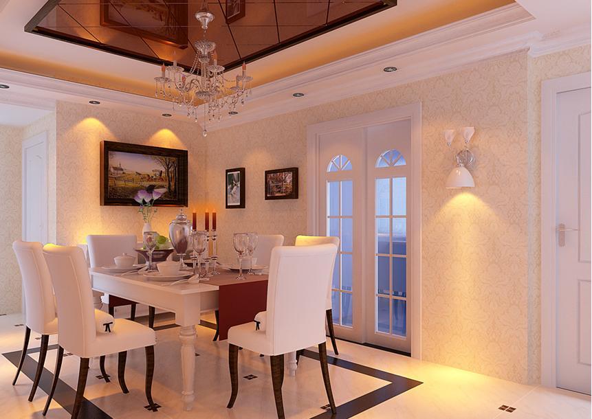 餐厅墙面装饰效果图 几种中式餐厅装修风格推荐