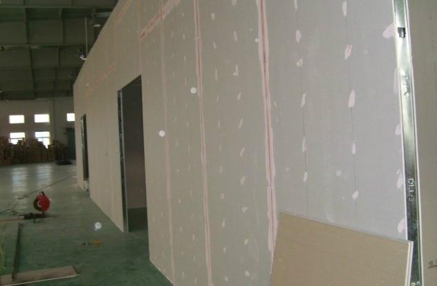 石膏板墙面安装视频 石膏板隔断墙怎么安装啊