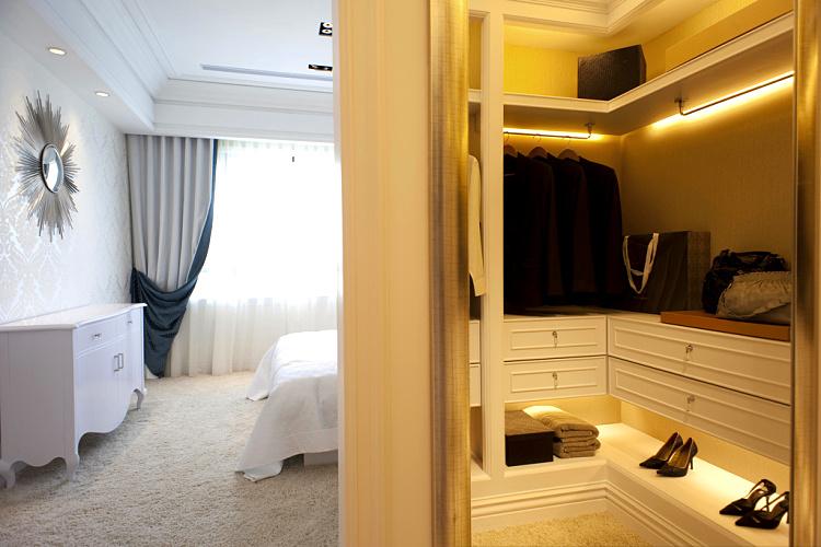 卧室衣帽间隔断效果图 如何布置卧室