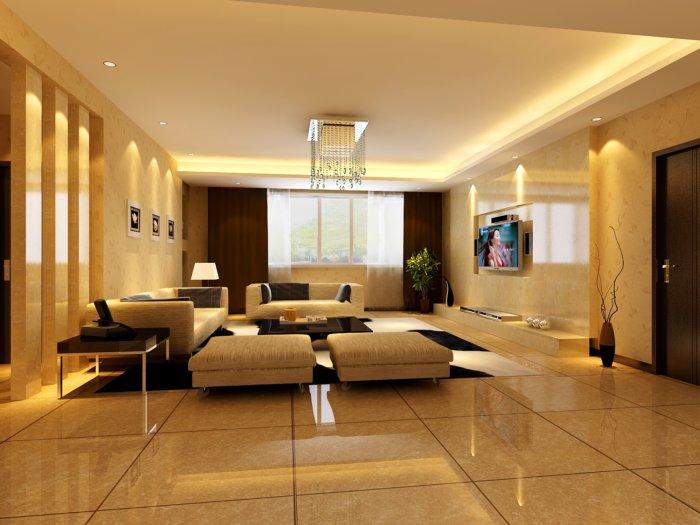 入户门直对客厅装修图 入户门进门就是餐厅和客厅,玄关如何设计?