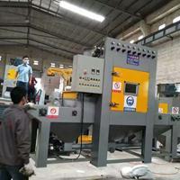 不锈钢板材输送式喷砂机铝制品表面强化翻新处理设备