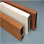 吊顶厂家工程批发价格直销生态木方通吊顶6012方通