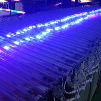 厂家直销led雷光管爆闪轮廓户外亮化白光 LED数码管七彩跑马灯