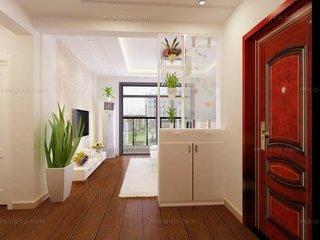 为什么家里要做玄关  玄关硅藻泥装修效果图
