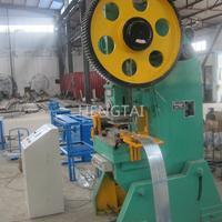领先技术刀片刺绳网刀片刺绳防护网机器 生产冲床机包丝机厂家