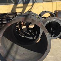 圆形检查井模具、圆形检查井钢模具的厚度、尺寸-泽达模具