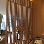 仿古型材铝窗花-仿木纹铝花格窗-木纹色铝窗花厂家制作