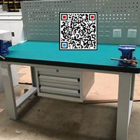 重型复合板钳工台|钳工四工位实训桌|钳台钳桌生产厂家