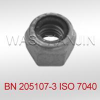 万喜耐高温尼龙锁紧螺母ISO7040