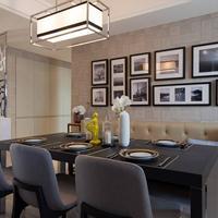 宽居整装现代、美式、欧式风格,集成墙面家装效果赏析