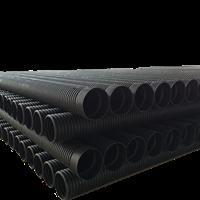 广西大型厂家直供 HDPE塑钢缠绕管