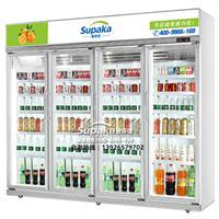 四门饮料柜四门展示展示便利店用的冰柜多少钱