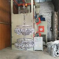 佛山通过式喷砂机铝型材处理抛丸机铝合金处理双吊钩式抛丸机