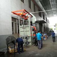 铝铸造件处理抛丸机锯片砂轮片处理喷砂机丹灶喷沙机抛丸机厂家