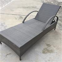 广州厂家直供舒适环保耐用手工藤编多用途躺椅
