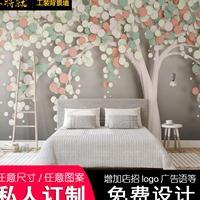 免费设计 酒店客房床头背景墙壁画 小清新宾馆壁画1000张图