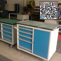 移动四抽工具柜、铁制工具整理柜、重型组合工具车生产厂家