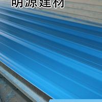 白色梯形PVC厂房塑钢瓦 彩钢瓦单层防火瓦片 屋面防水塑料瓦厂家