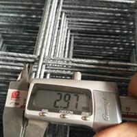 生产黑丝焊接网片 2.5丝铺地面建筑钢丝网一张价格500平起批