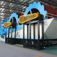 环保型洗沙机设备 新型双轮洗砂回收一体机市场报价