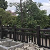 深圳 东记 水 泥仿木栏杆