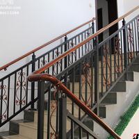 博盾定制LT-2锌钢楼梯扶手