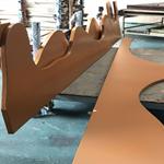 造型弧形铝方通价钱合理支持定做
