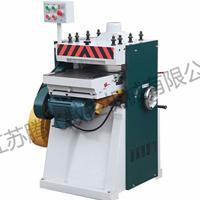 高速双面压刨机 可升降调节压刨机械 自动吸尘环保木工设备