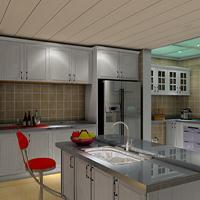 衡阳高端别墅厨房不锈钢橱柜私人定制  整体不锈钢橱柜招商