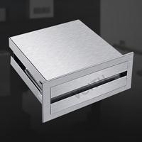 340不锈钢镜后手纸盒折叠手纸箱BM-8625杭州写字楼卷纸架