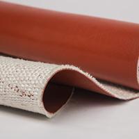 供应鑫茂防火隔热硅橡胶玻纤布 耐高温护毯
